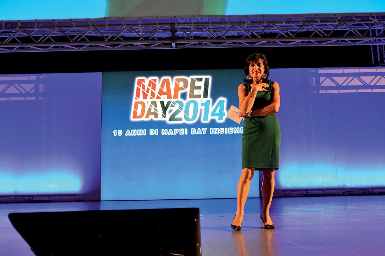 Adriana Spazzoli presenta il Mapei Day 2014