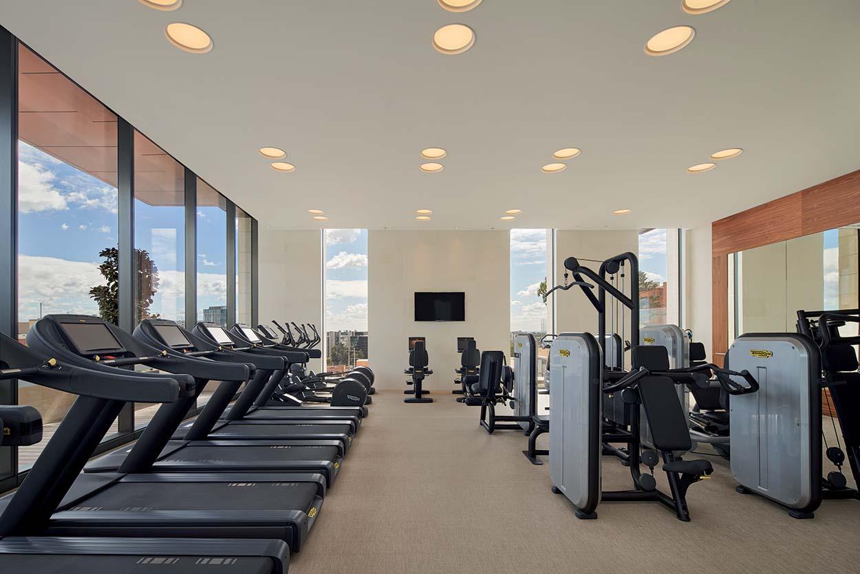 fitness area c - prodotti Mapei per l'Hotel Westin Perth - Australia