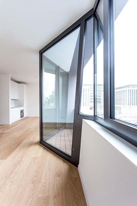 interni_prodotti Mapei per gli edifici Daniel Libeskind di Berlino - Unità residenziali Sapphire