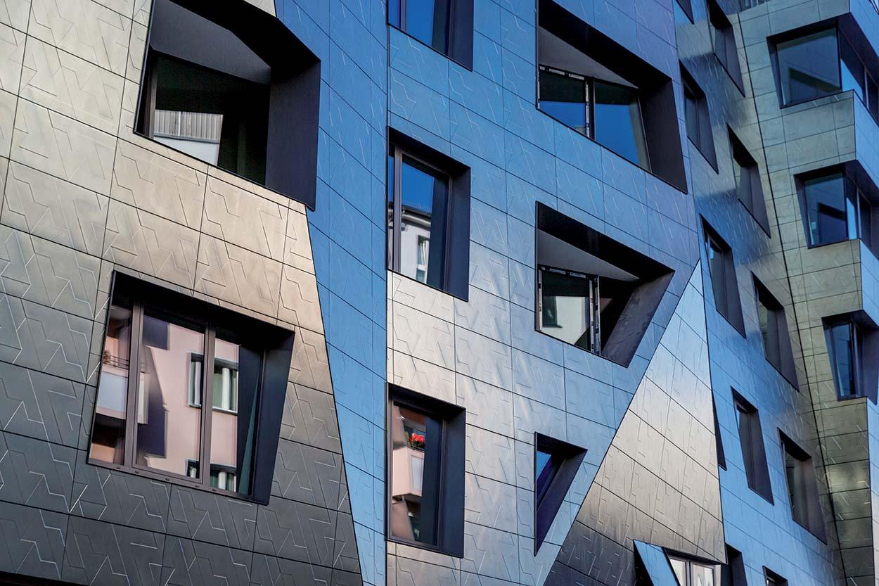prodotti Mapei per gli edifici Daniel Libeskind di Berlino - Unità residenziali Sapphire