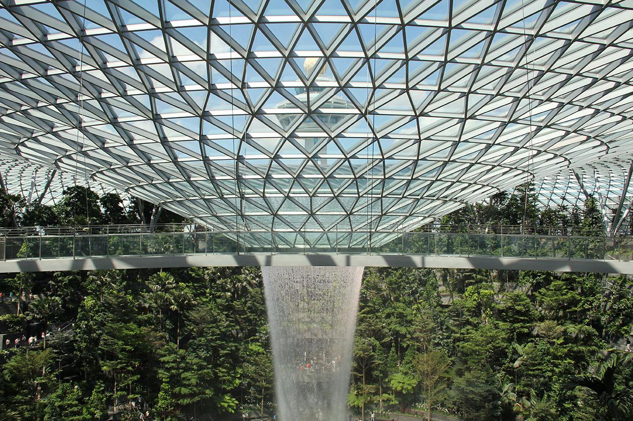 Prodotti Mapei per Ceramica e Pietra all'Aeroporto di Singapore Jewel Changi Airport (4)