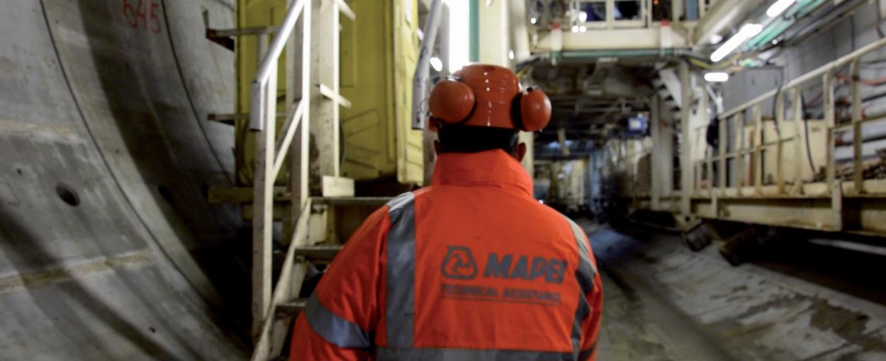 Le soluzioni Mapei nella Linea 3 della Metropolinata di Sofia - Bulgaria - MAPEI UTT Team interviene per lo scavo con TBM e le lavorazioni UTT