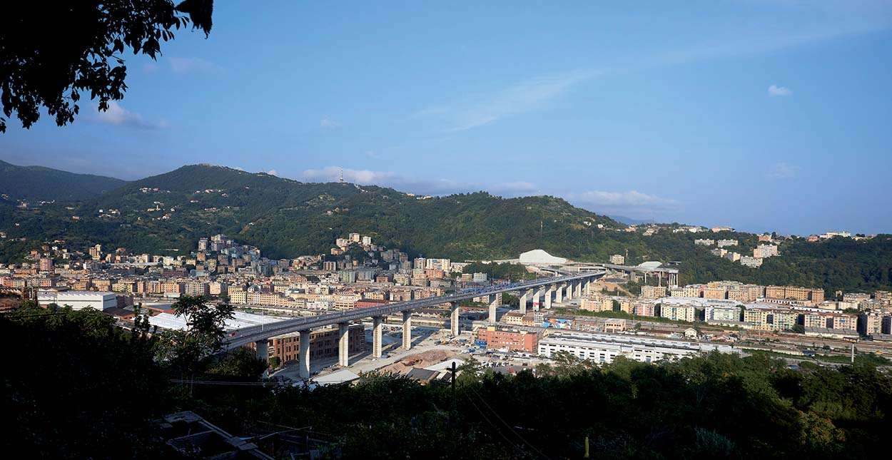 Ponte Morandi ora nuovo Ponte di Genova - il Ponte San Giorgio e i prodotti Mapei (1)