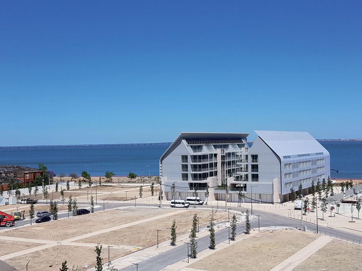 Braço de Prata il lussuoso quartiere residenziale a nord di Lisbona - Mapei nel progetto