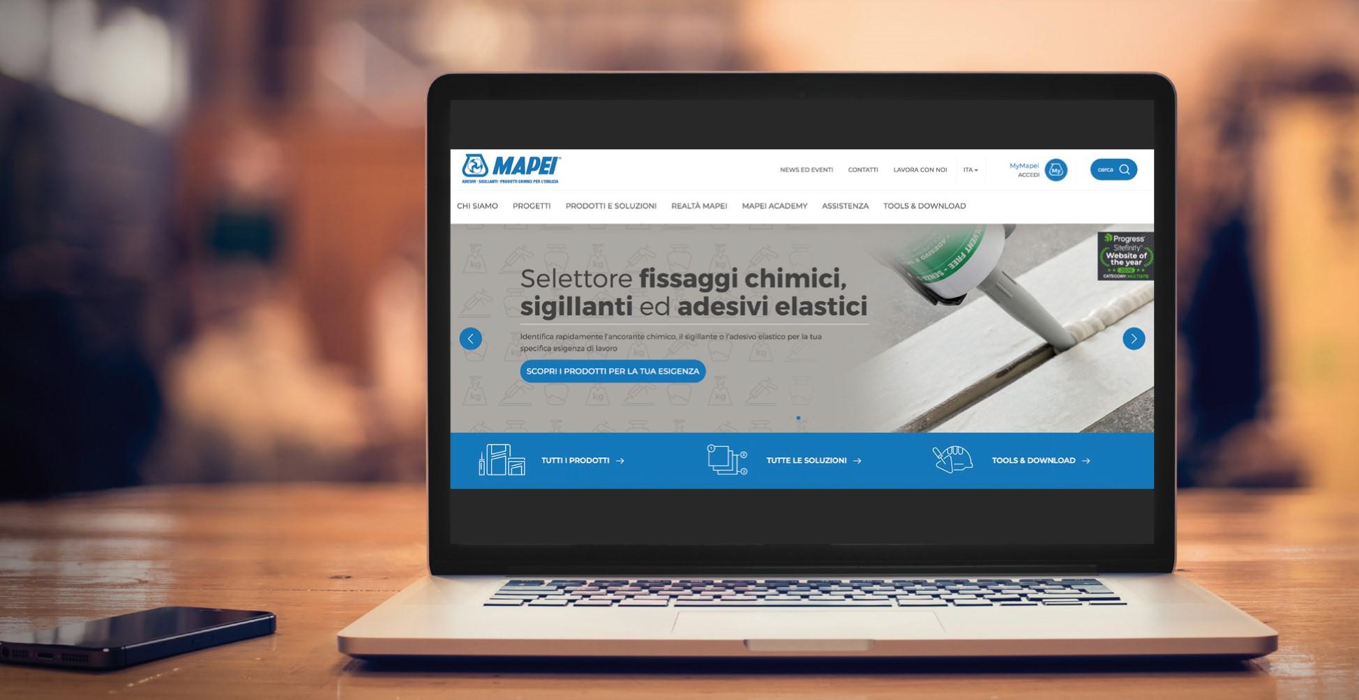 Selettore Sigillanti 2 - wizard Mapei - tool gratuito online per calcolare e scegliere sigillanti adesivi schiume poliuretaniche e fissaggi chimici