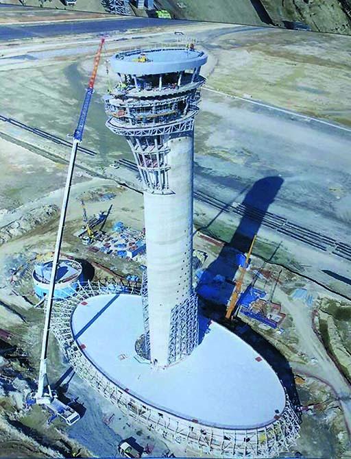 Aeroporto di Istanbul - soluzioni Mapei per la suggestiva torre