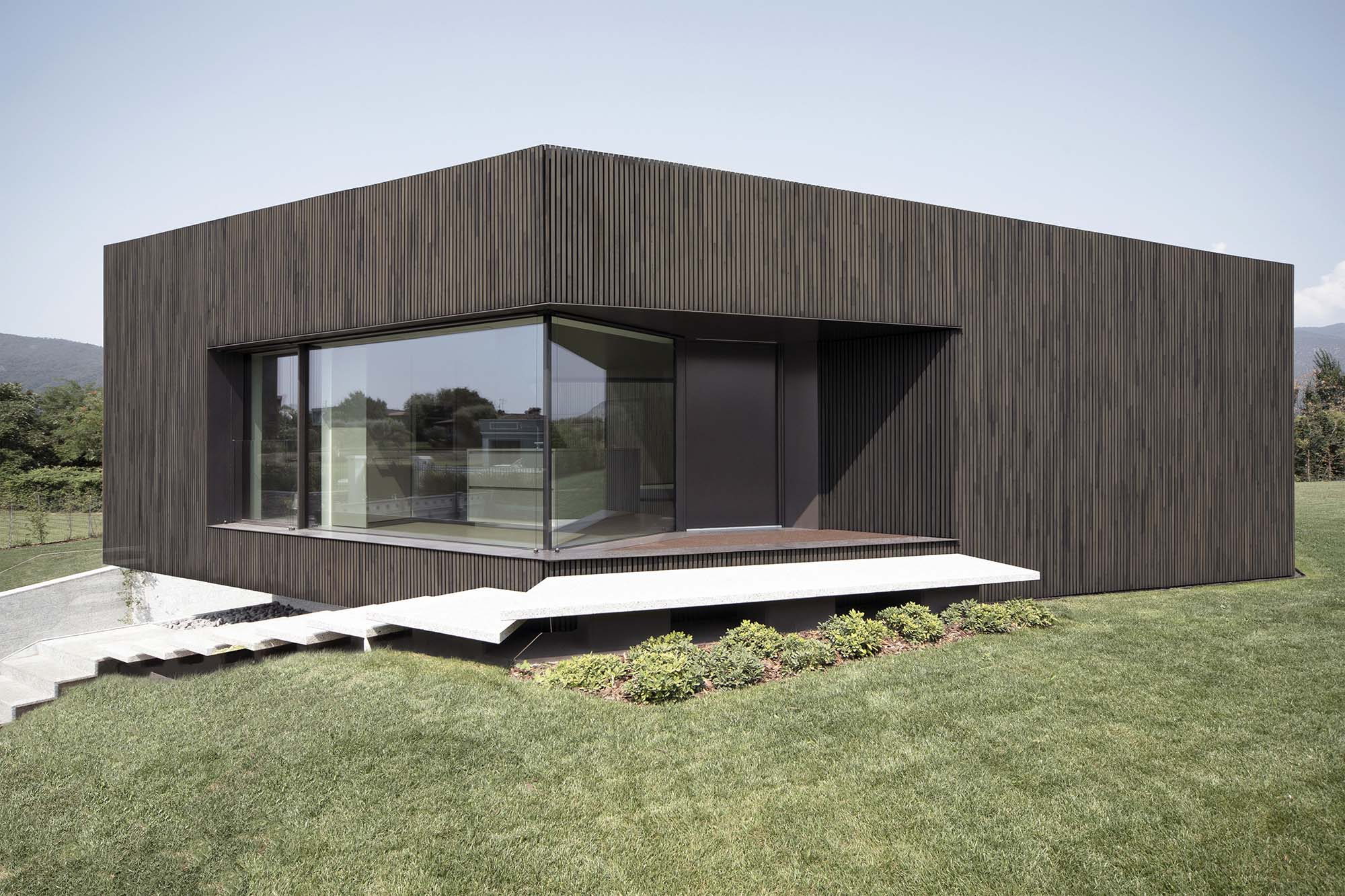 Claw House, Cremignate (Brescia) - soluzioni Mapei