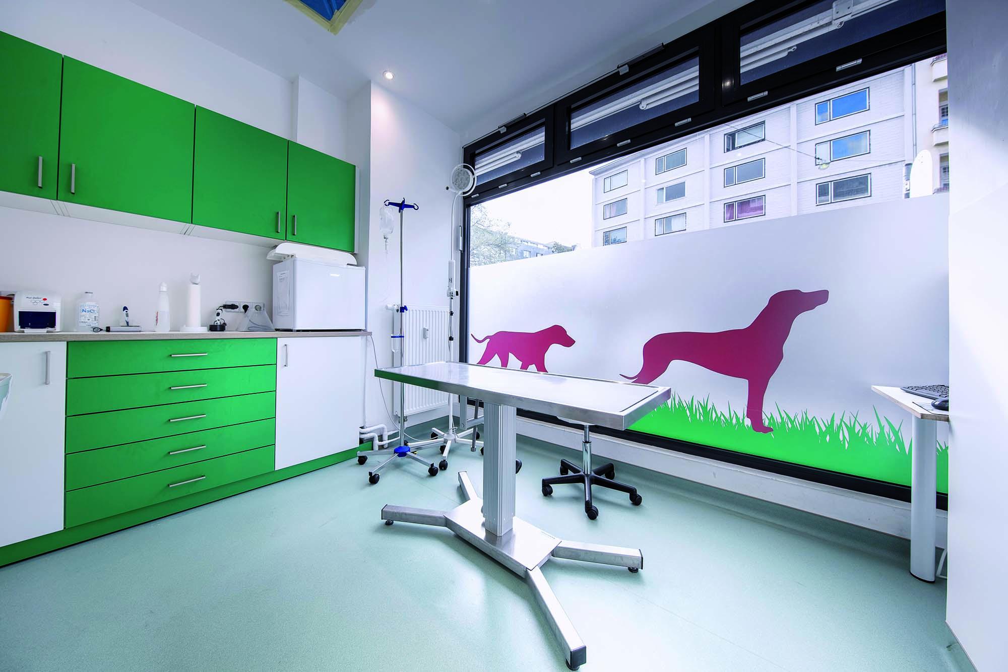 Uno degli ambienti della Clinica Veterinaria Bärenwiese - Berlino