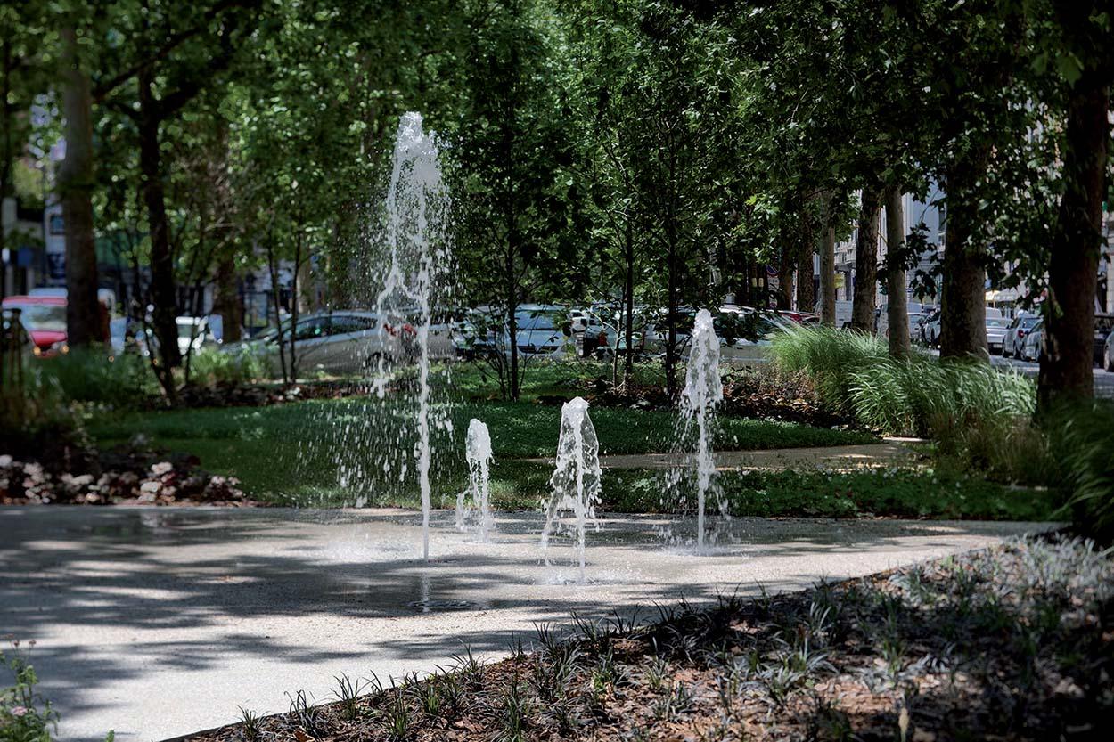 Fontana Viale Jenner - Mapei con il Comune di Milano 2
