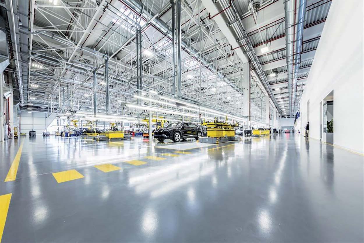 Soluzioni Mapei per lo Stabilimento Lamborghini a Sant'Agata Bolognese - Mapei Concrete Flooring Solution