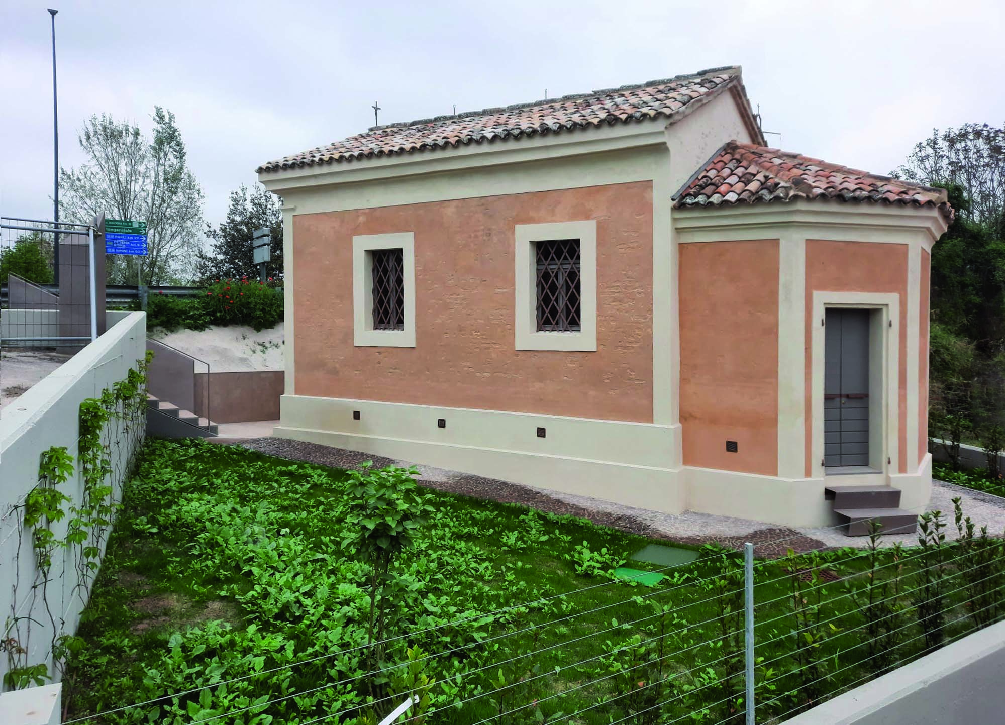 Oratorio della Madonna di Pompei a Ravenna_sistemi Mapei per il risanamento e il restauro conservativo