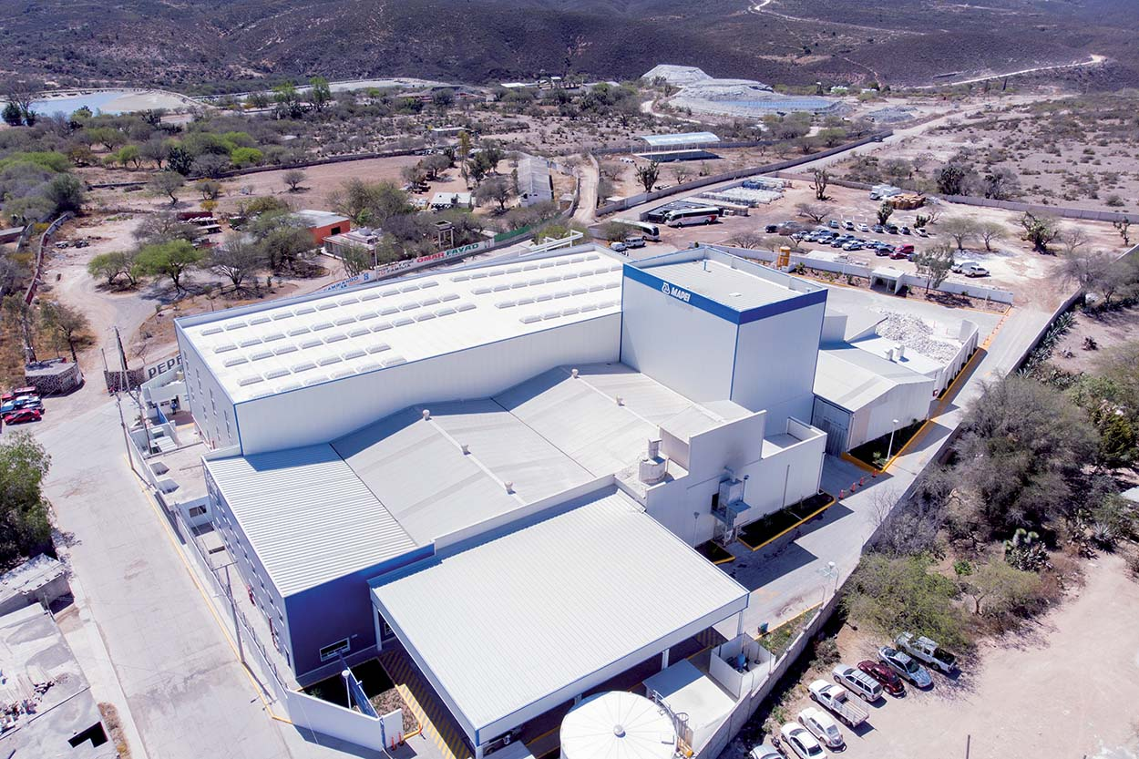 The Mexican subsidiary has another recently extended manufacturing plant in Zimapan, in Central Mexico.