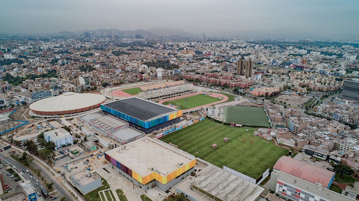 Villa Deportiva Nacional Videna sport complex, city of Lima, Perù. Mapei products and systems