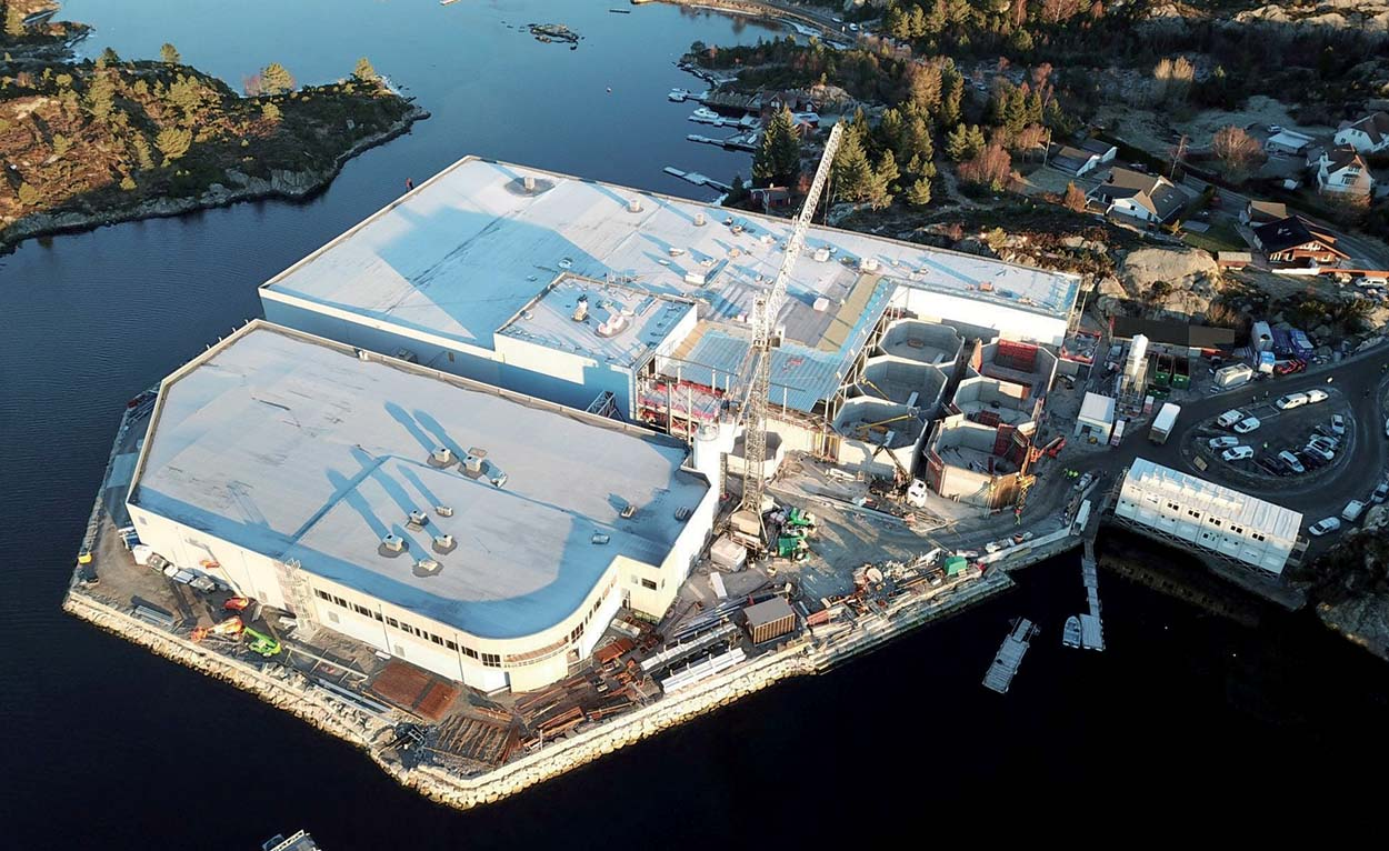 Vivaio di pesce_Sjotroll fish farm_Mapei_Norvegia