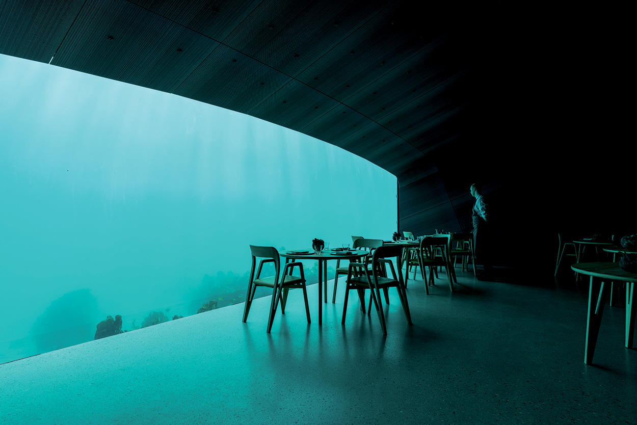 Mapei - Norway's Restaurant Under - Ristorante Under Norvegia Studio Snohetta_Spangereid (6)