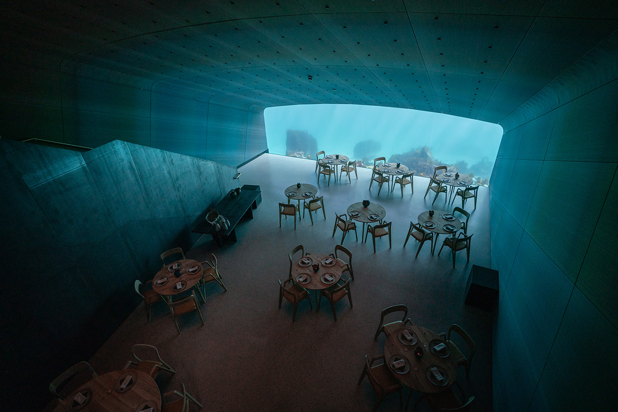 Mapei - Norway's Restaurant Under - Ristorante Under Norvegia Studio Snohetta_Spangereid (7)