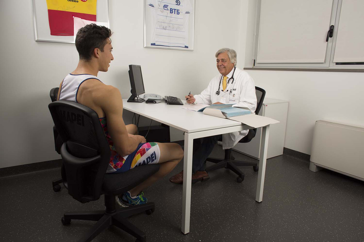 Mapei Sport Research Centre_welfare at worksite for Mapei staff_workplace benefits_medical check-up