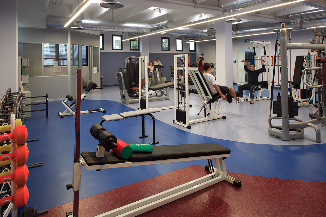 Mapei Sport Research Centre_welfare at worksite_workplace benefits_Mediglia-plant-fitness-centre