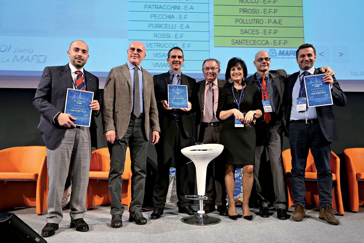 Giorgio Squinzi - Adriana Spazzoli - CONVENTION MAPEI 2014