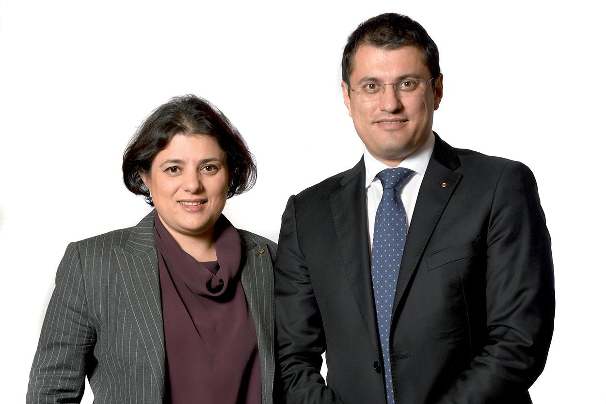 Veronica Squinzi e Marco Squinzi