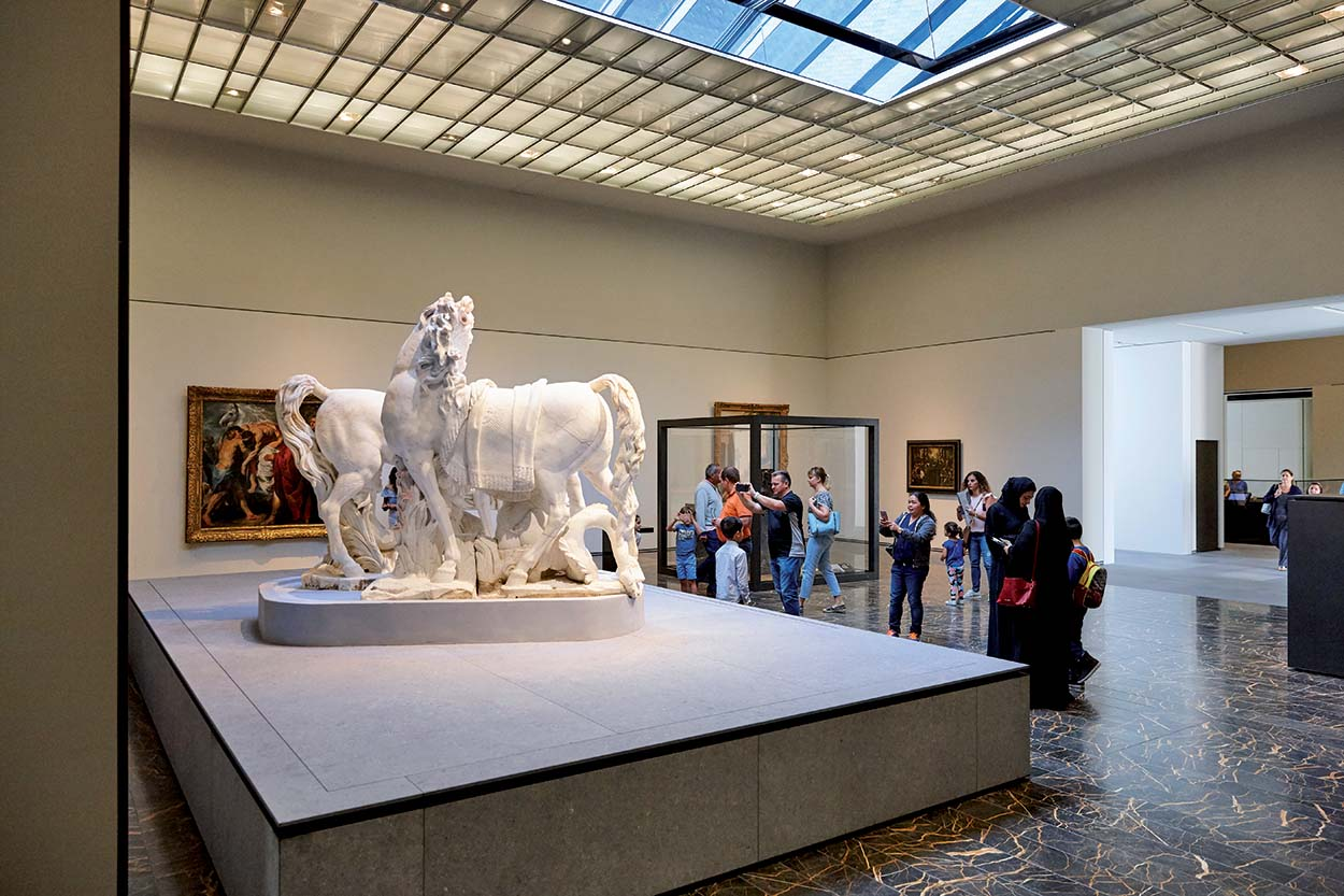 Mapei products for the Louvre museum in Abu Dhabi - marble installation - grouts - sealants - concrete 3
