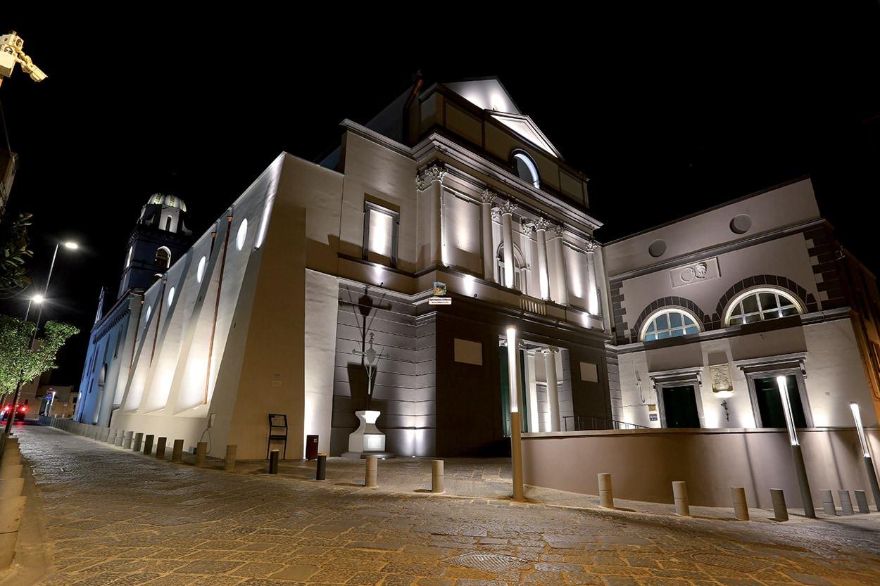 Mapei PoroMap - The Santo Domenico Church in Somma Vesuviana - Naples - Italy