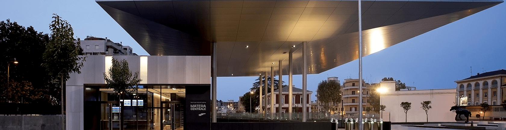 Matera Central Railway Station