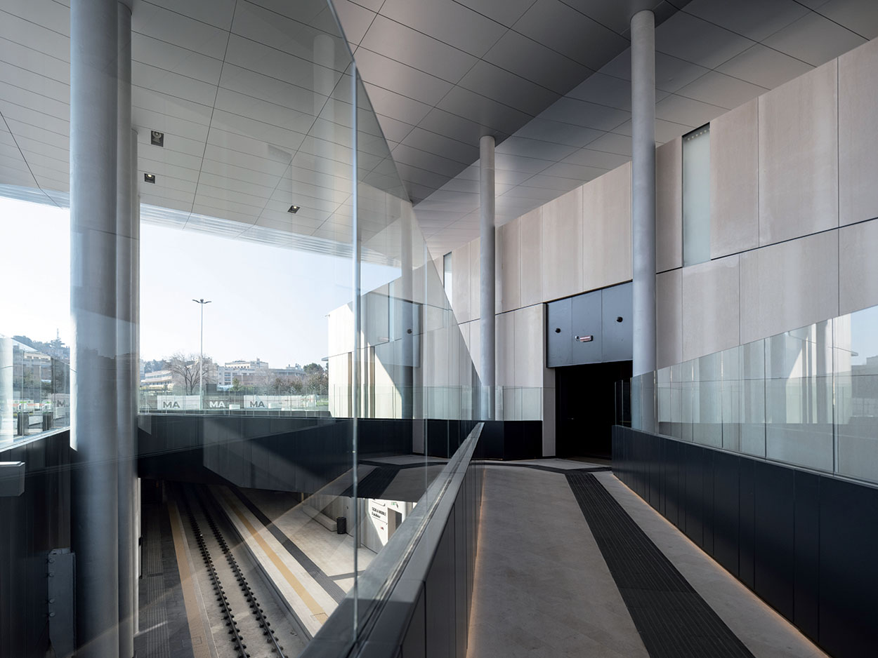 Mapei products for the Matera railway station designed by architect Stefano Boeri (1)