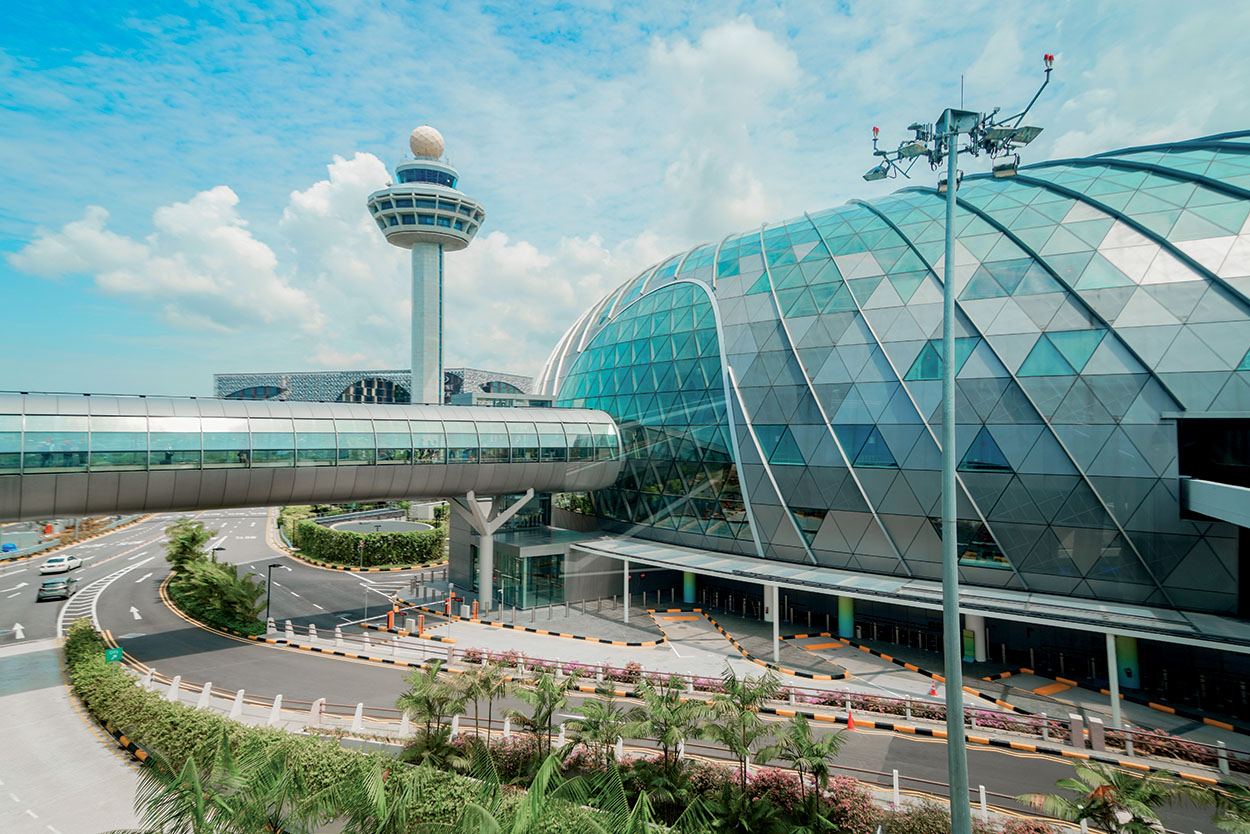 Mapei products and technology for the construction of the Singapore Jewel Changi Airport - externals - shutterstock_1386723251_B
