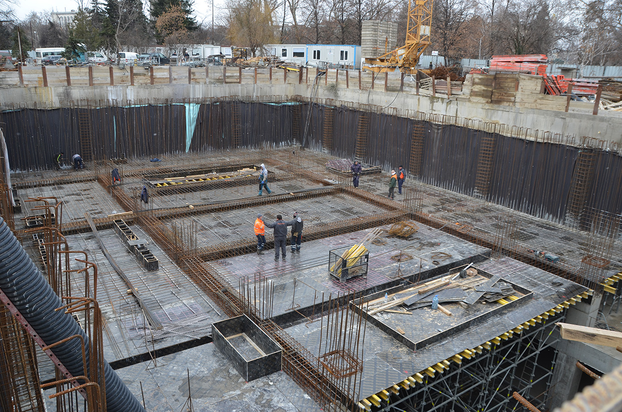 Mapei poducts for underground construction_Sofia Metropolitan Rail Networkf Line 3_pictures from the jobsite (2)