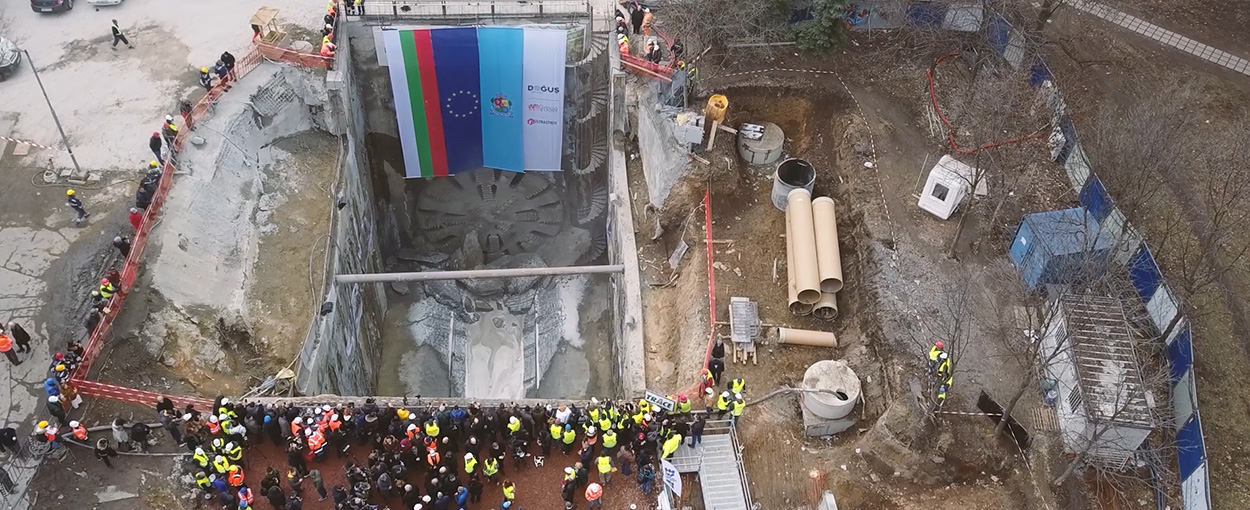 Mapei poducts for underground construction_Sofia Metropolitan Rail Networkf Line 3_pictures from the jobsite (4)