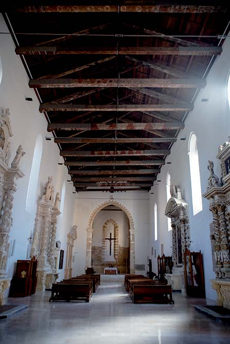 Mapei products for restoring and strengthening the church of San Paolo Eremita in Brindisi Italy (2)