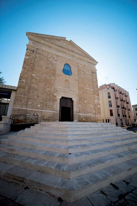 Mapei products for restoring and strengthening the church of San Paolo Eremita in Brindisi Italy (8)