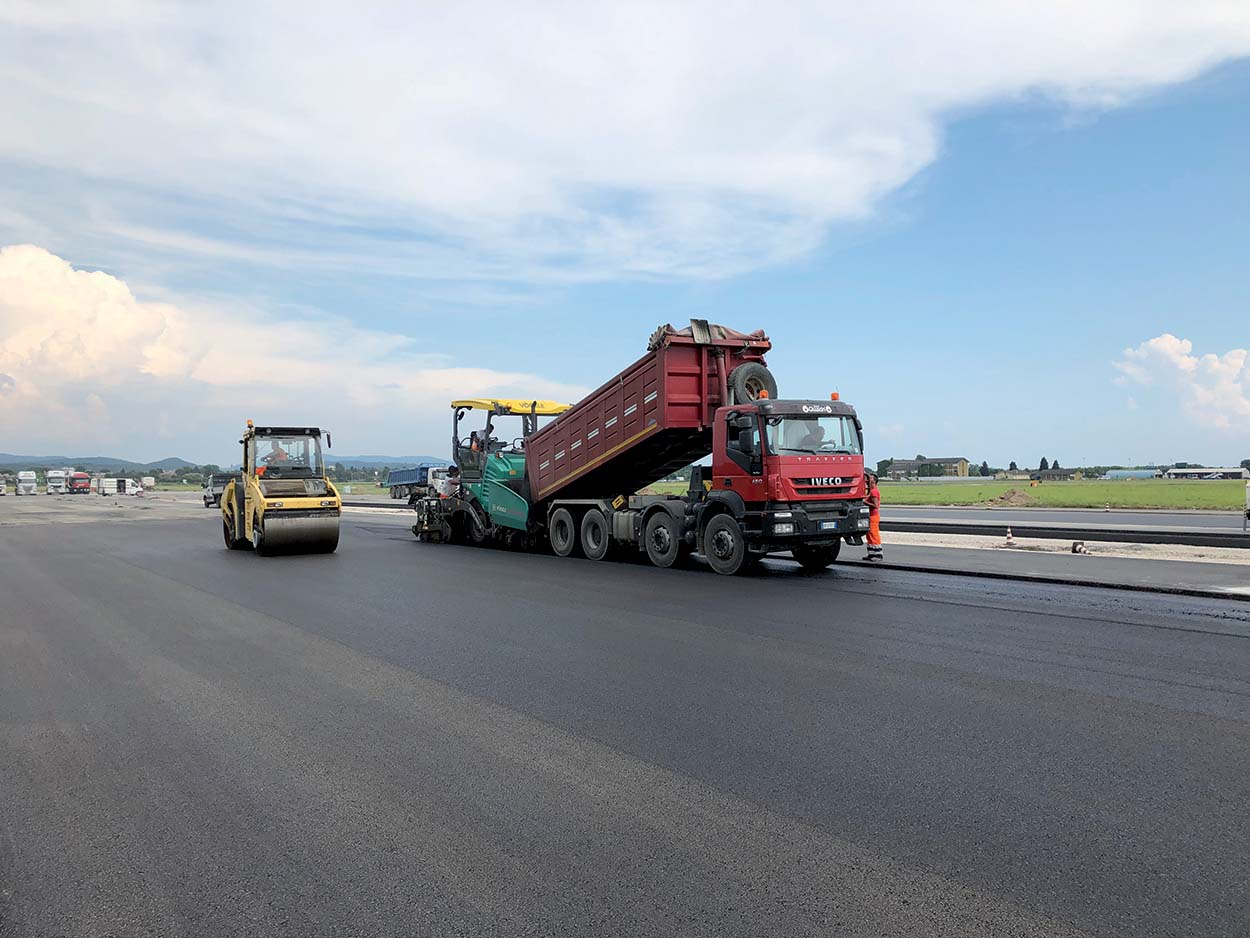 MAPEI ACF-L1, ACF-L2 and ACF-L3 allow substantial amounts of road asphalt to be recycled