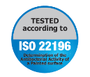 Mapecoat ACT 196 by Mapei is tested in accordance with ISO 22196