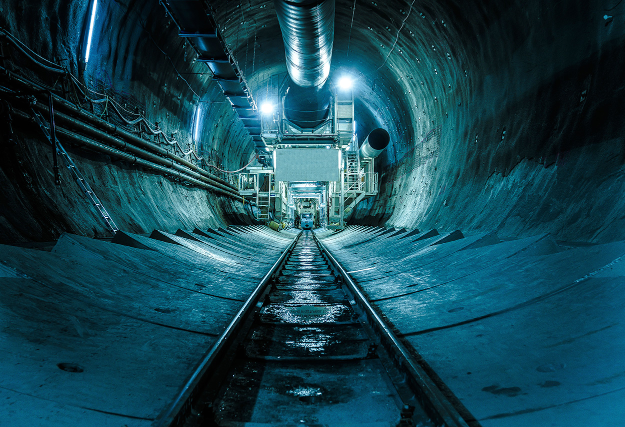 The Semmering Base Tunnel - Austria - Mapei delivers  admixtures for concrete