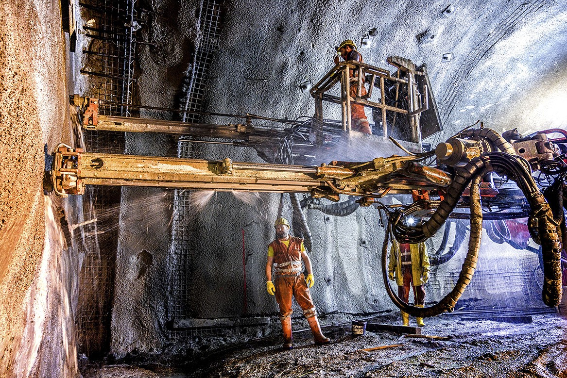 The Semmering Base Tunnel - Austria - Mapei delivers  admixtures for concrete_SBT2.1_Tübbinglager_56