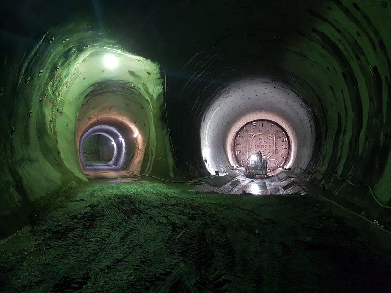 The Semmering Base Tunnel - Austria - Mapei delivers  admixtures for concrete_Verschub_TVM_SR2O (5)