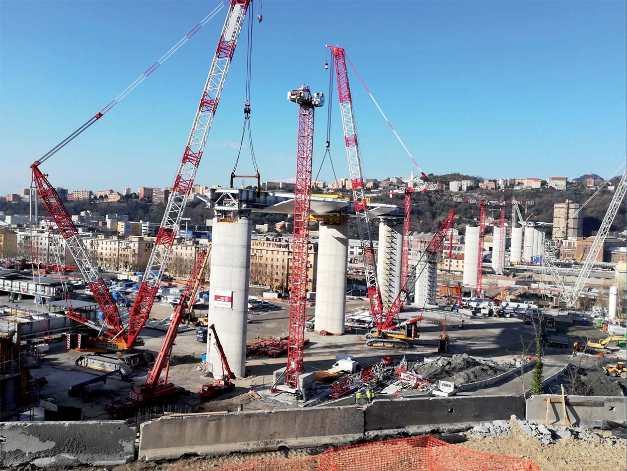 Genoa San Giorgio Bridge -former Ponte Morandi Bridge - Mapei solutions for Admixtures (6)