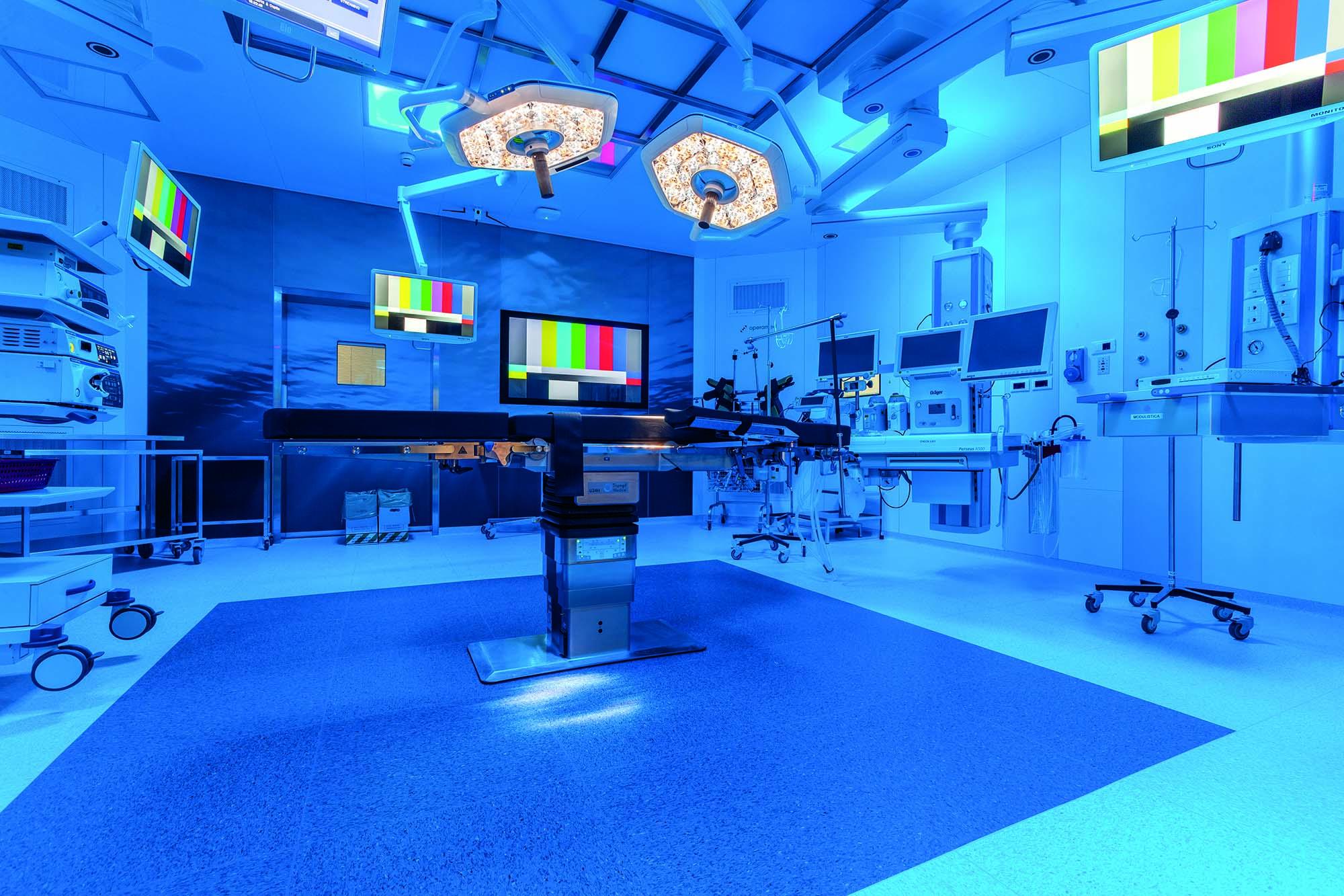 Fondazione Poliambulanza Hospital in Brescia Italy