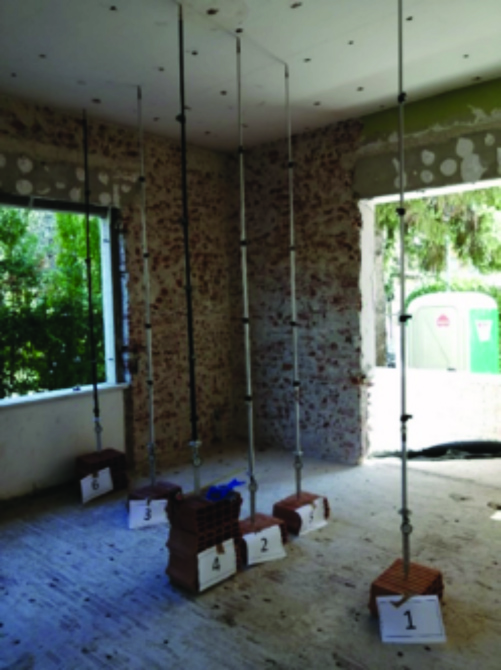 Foto 2_a -  Mapei jobsite in an Italian villa - strengthening and seismic upgrading work