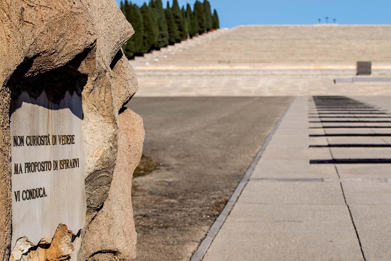 Redipuglia War Memorial_Mapestone and Mapei Color Paving