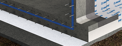 A barrier against radon gas: the proposal from the Mapei range