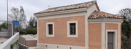 Conservative renovation and restoration of the Madonna di Pompei Oratory