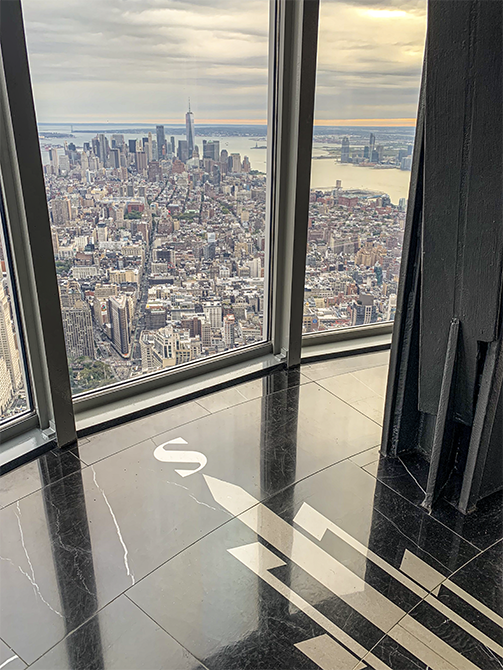 Empire State Building Observation Deck_- Mapei solution for installing ceramics