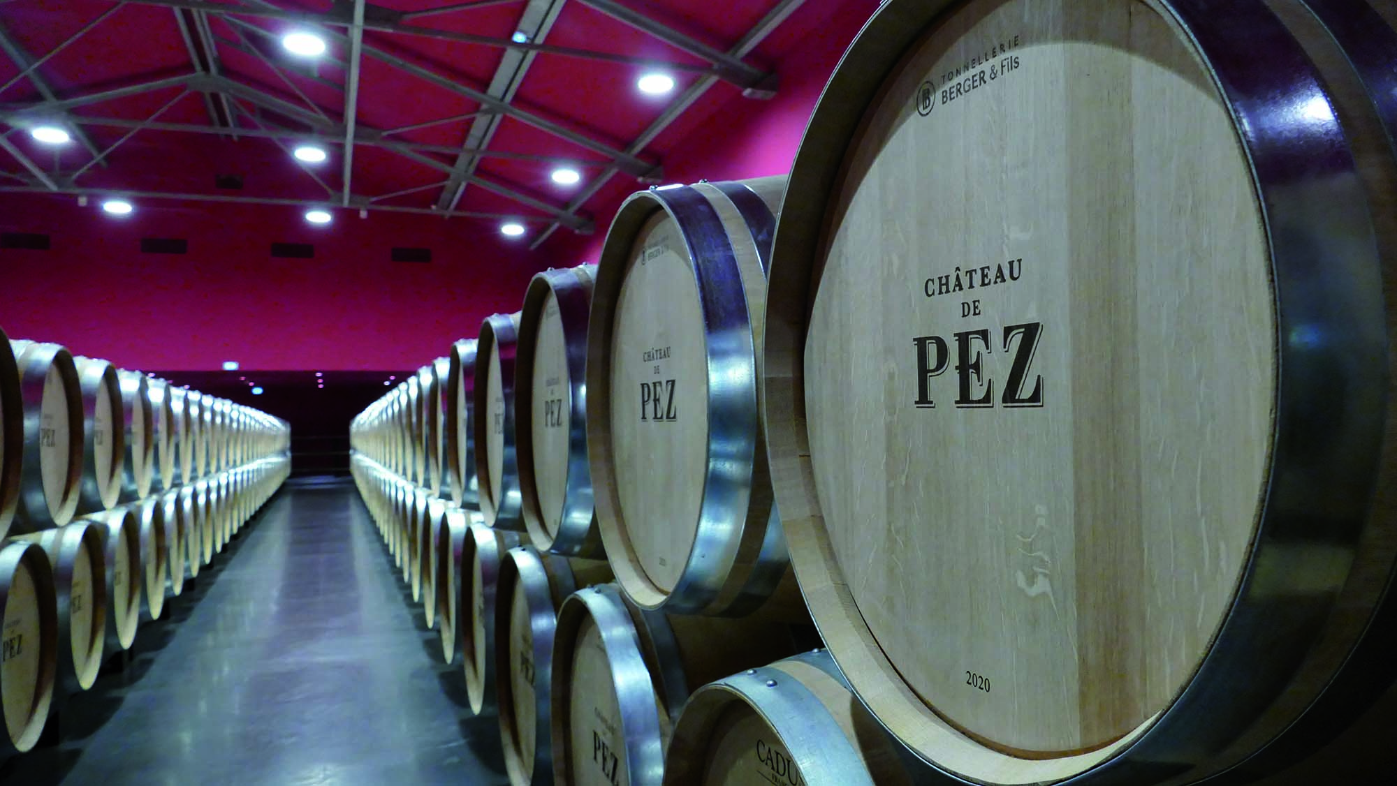 PEZ CHAI BARRIQUES_The area used for storing wine_Mapei solutions for wine production plants