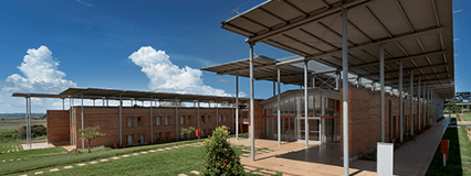 Beauty and sustainability for Emergency's  new hospital in Uganda